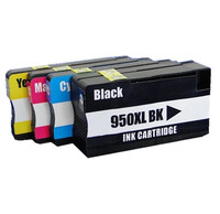 4x Compatible Ink Cartridges For HP950 951 For HP Officejet Pro 8100 8600