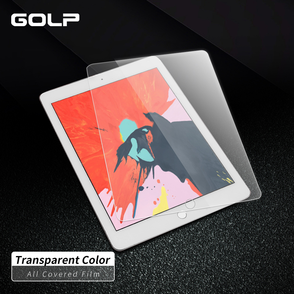 Tempered Glass For iPad 2 3 4   GOLP Transparent Screen Protector Protective Glass For iPad 4 3 2 Film|Tablet Screen Protectors| |  - title=