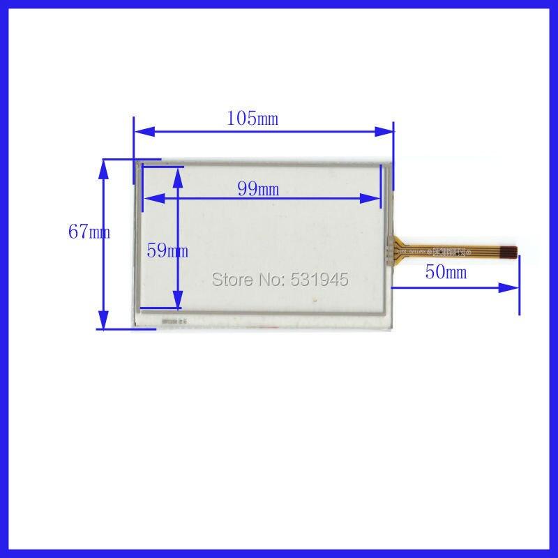 ZhiYuSun 105mm * 67mm Der neue 4,3-Zoll-Touchscreen für 4,3 GPS ist - Tablet-Zubehör
