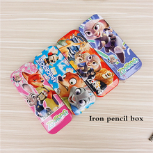 Multifunction Cartoon Pencil cases/ 2015 novelty gift boxes of school supplies/small animal pattern pencil case with calculator
