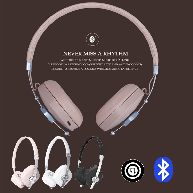 Beevo V6 Wireless Bluetooth Stereo Headset Over Ear Earphone with MIC Headphone for Music Bluetooth Phone call 3 Colors rock y10 stereo headphone earphone microphone stereo bass wired headset for music computer game with mic