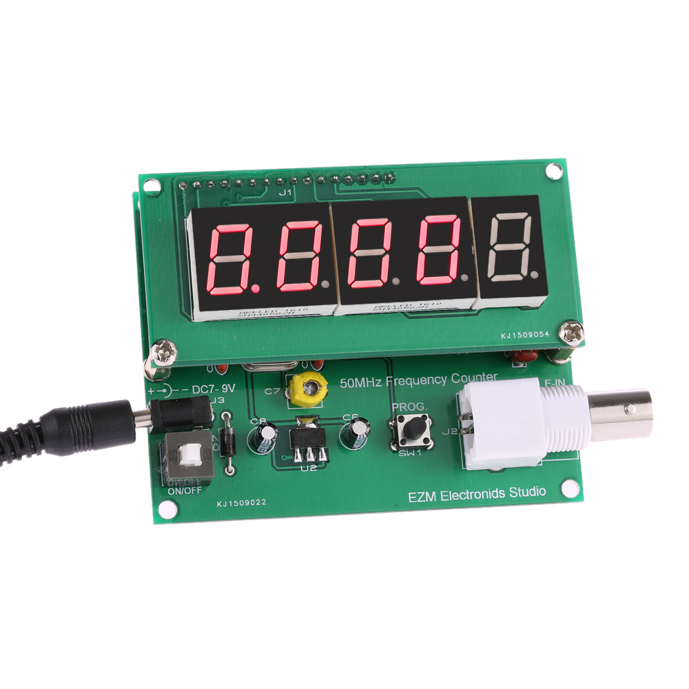 Pic12f675 Frequency Counter : Hz mhz high sensitivity frequency meter