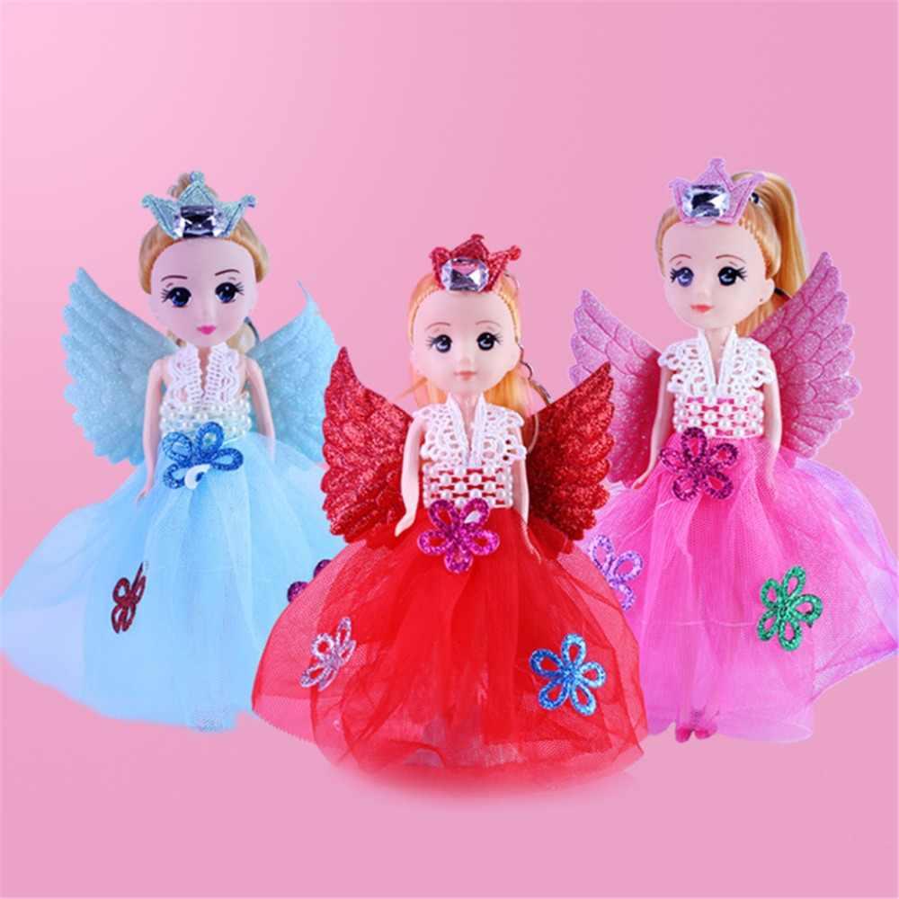 """7 """"Glitter Malaikat Boneka dengan Sayap Mainan untuk Anak Perempuan Mainan Hadiah Ulang Tahun"""