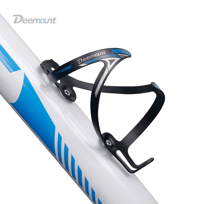 Deemount Bicycle Water Bottle Holder Alloy Mold-in Alloy Bottle Cage Carrier Rack Light Weight 26grams Cycling Parts BKG-007