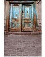 壊れたドアテーマ屋外写真撮影の背景古いドア用フォトスタジオカスタマイズされたバックドロップ任意サイズ利用可能