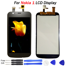 цена на N1 Screen for Nokia 1 LCD Display and Touch Screen Digitizer Assembly Replacement Parts 4.5 LCD for Nokia N1 Display TA-1047