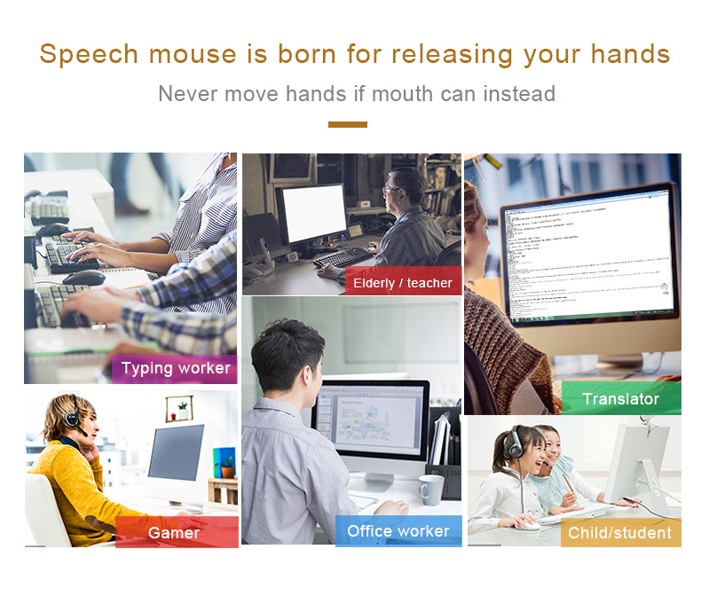 US $49 28 36% OFF|Voice Translator Instant Language Translator Mouse Speech  To Mouse And Typing Into PC For English French Russian Spanish-in