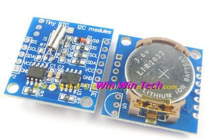 5pcs Free Shipping I2C RTC DS1307 AT24C32 Real Time Clock Module for Arduino 51 AVR ARM PIC