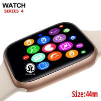 44mm Smart Watch Series 4 Clock Sync Notifier Support Connectivity Apple iphone 7 8 X Android Phone Smartwatch Support Facebook