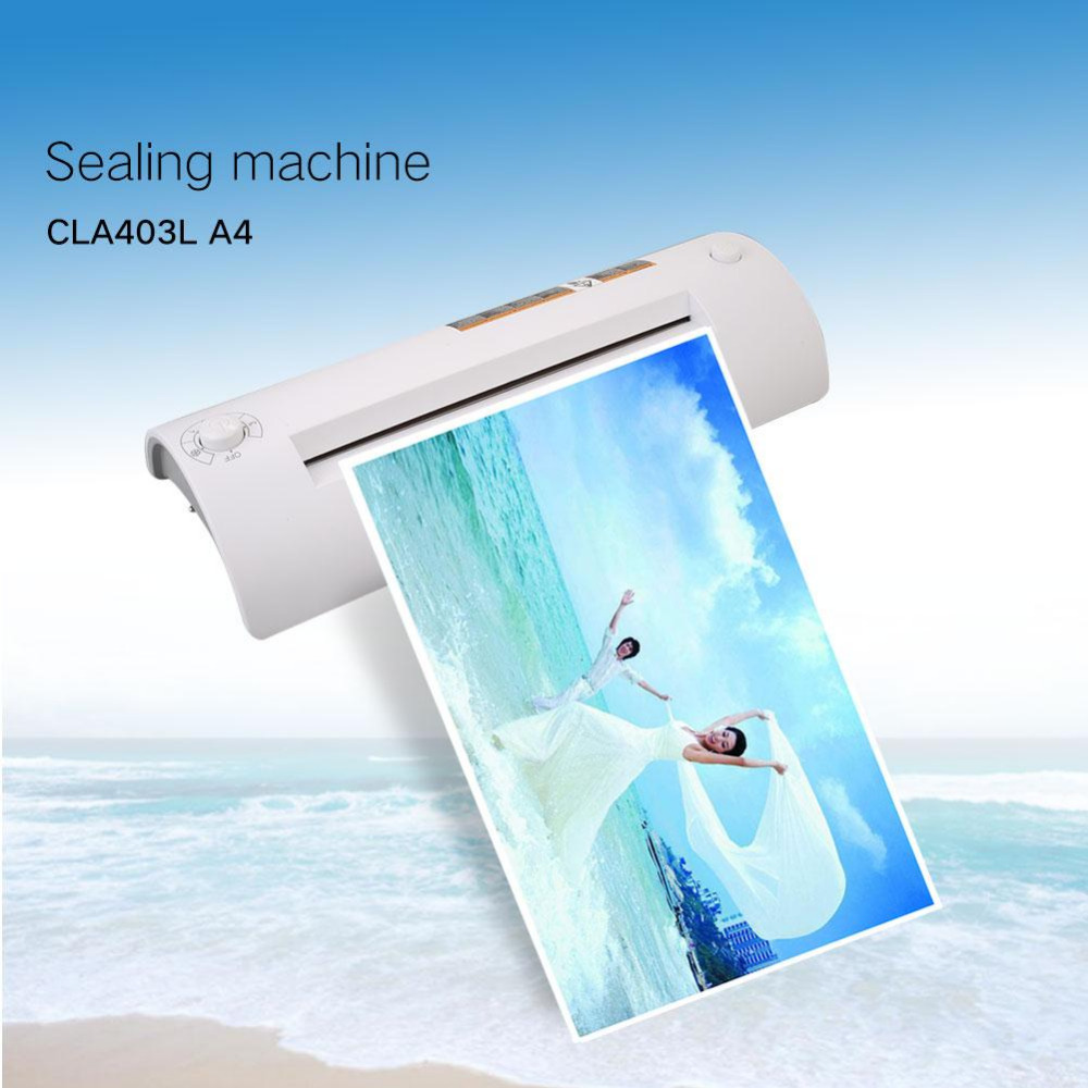 Cewaal CLA403L A4 Photo Hot&Cold Thermal Laminating Machine System Laminator Home Roll High Quality a3 a4 roll laminator laminating machine 4 roller system photo laminator lk4 320 220v 300w cold laminator