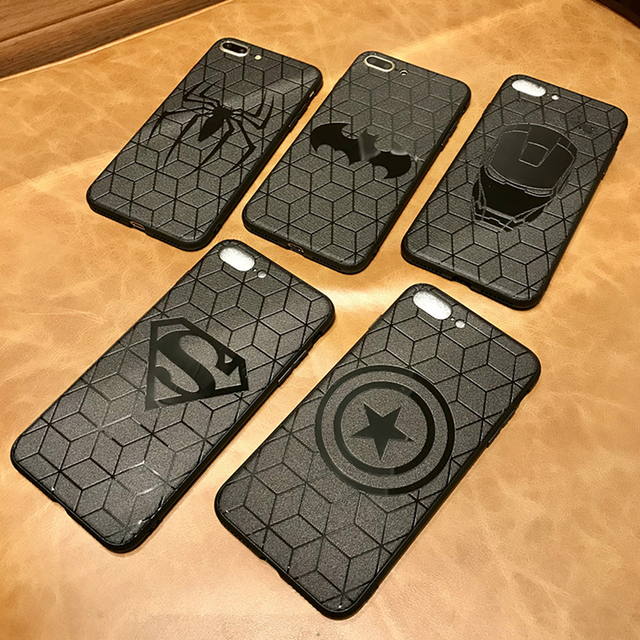 Marvel Avengers Superhero Silicone Case – iPhone