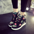 Осень 2016 новый камуфляж Хан Guohou нижние сандалии больше контактов в прилива повседневная обувь женские туфли