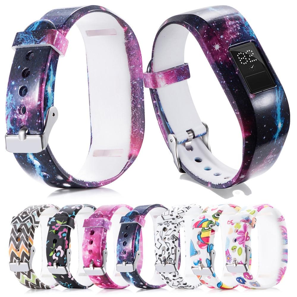 Garmin Vivofit Jr 2 Fitness Band: Replacemet Silicone Watch Band Strap For Garmin VivoFit Jr