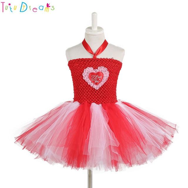 7610a88e78f4 New Arrival Valentine s Day Heart Pattern Tutu Dress Halloween New ...