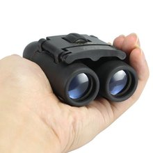 30×60 Mini Zoom Outdoor Binoculars Folding Day And Night Vision Telescopes Portable Red Film Travel Spotting Optical Military