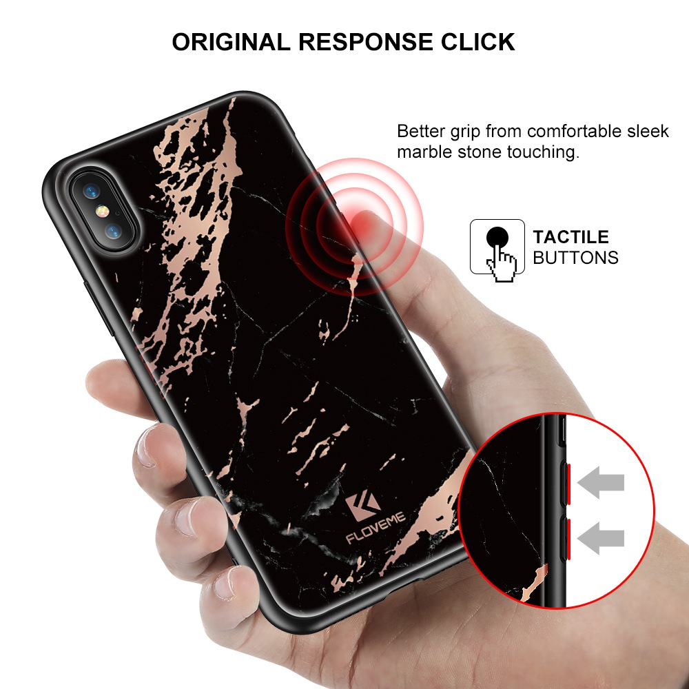 ... floveme золотой мрамор чехол для айфона х 8 плюс чехол Роско имд ПК  crane для iPhone ... 7d4d5b0f02505