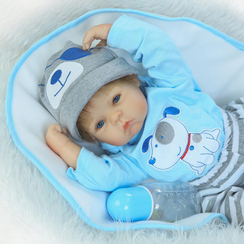 New 20 Silicone Reborn Baby Doll 50cm Toy for Girl Lifelike Reborn Babies play house Toy Birthday Gift Children Brinquedods free shipping main formatter board for epson pro 4800 4880c 4880 mainbard on sale