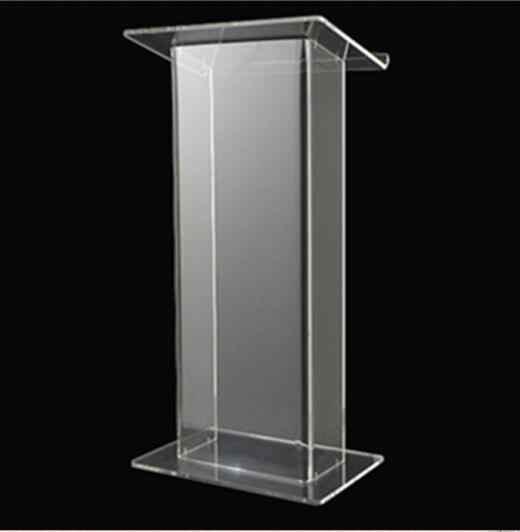 Transparant Acryl Lessenaar Acryl Werken Platform/Acryl Lessenaar/Acryl Podium plexiglas