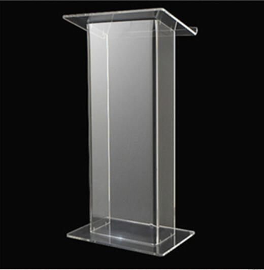 Transparent Acrylic Lectern Acrylic Working Platform / Acrylic Lectern / Acrylic Podium Plexiglass
