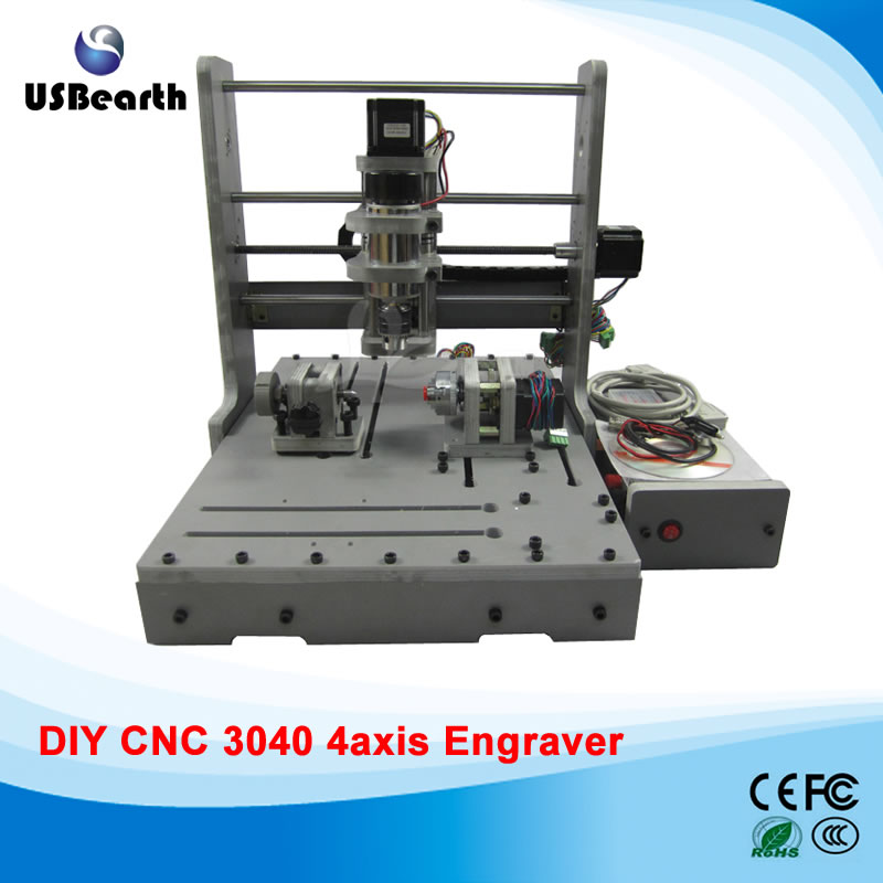 cnc 3040 3020 6040 router cnc wood engraving machine rotary axis for 3d work all knids of model number russian tax free DIY CNC router 3040 4 axis LY mini CNC engraving machine free tax to EU
