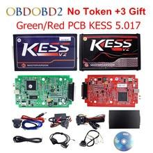 Мастер онлайн ЕС красный KESS V5.017 KESS V2 5.017 без маркер KTAG V7.020 OBD2 менеджер Тюнинг Комплект K-TAG 7.020 V2.23 ЭБУ программист