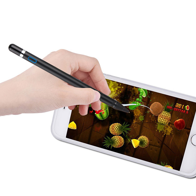High-precision 1.3mm Active Pen Chargeable Capacitive Touch Pen Capacitor Stylus IOS Android Windows10 Tablet PAD Touch Screen