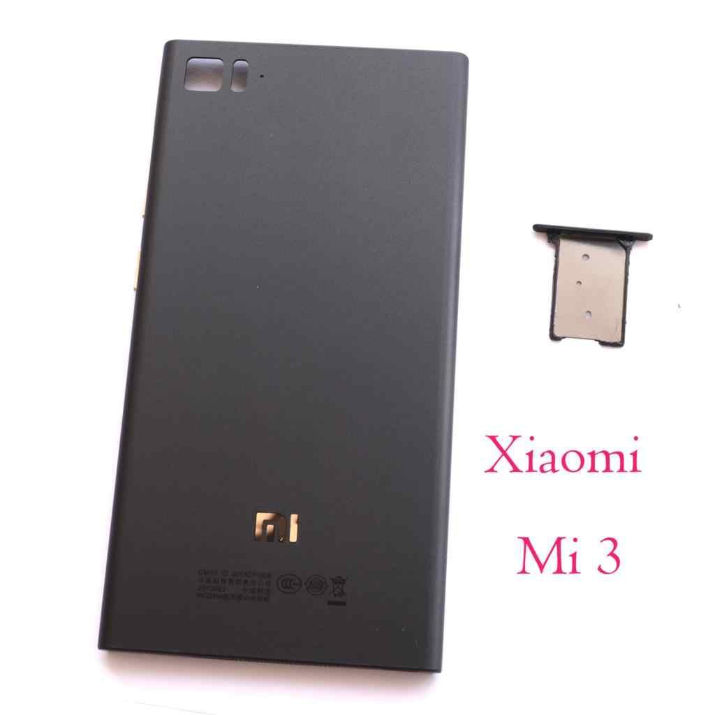 Detail Feedback Questions about Original for Xiaomi Mi3 M3 Mi 3 WCDMA Rear  Back Battery Cover Door Housing Case + SIM Card Tray + Power Volume Button  WCDMA ... 4a869c9cbf