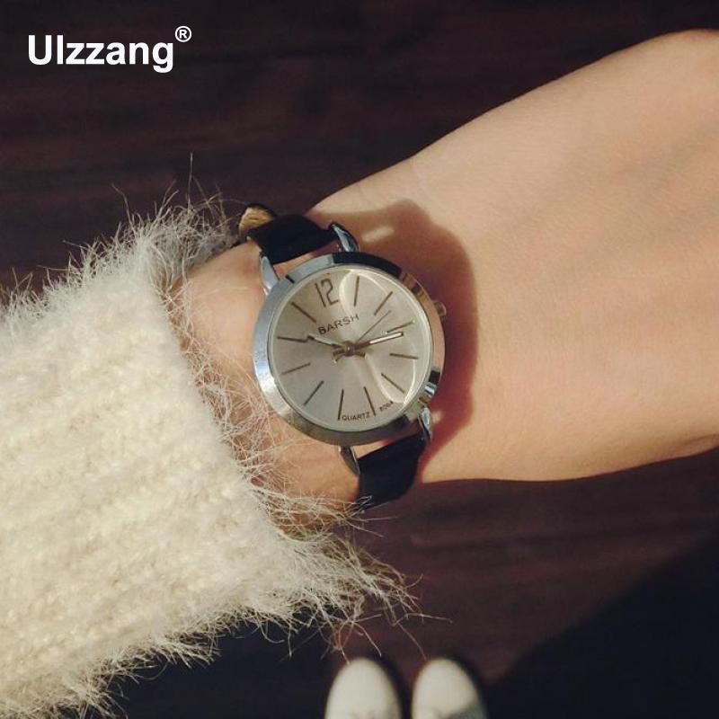 2017 New Fashion Simple Classic Women Slim Strap Wristwatch Brief Design Elegance Casual Quartz Lady Watches Gift Boys Girls цена 2016