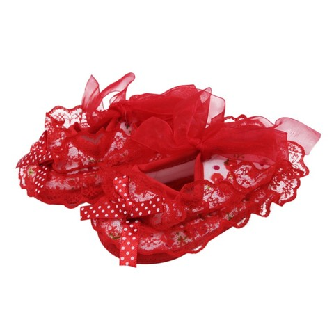 2019 New Lace Bow Baby Girl Princess Shoes Toddler Girl Cute Shoes Newborn High Quality Baby First Walker Shoes Baby Shoes Multan