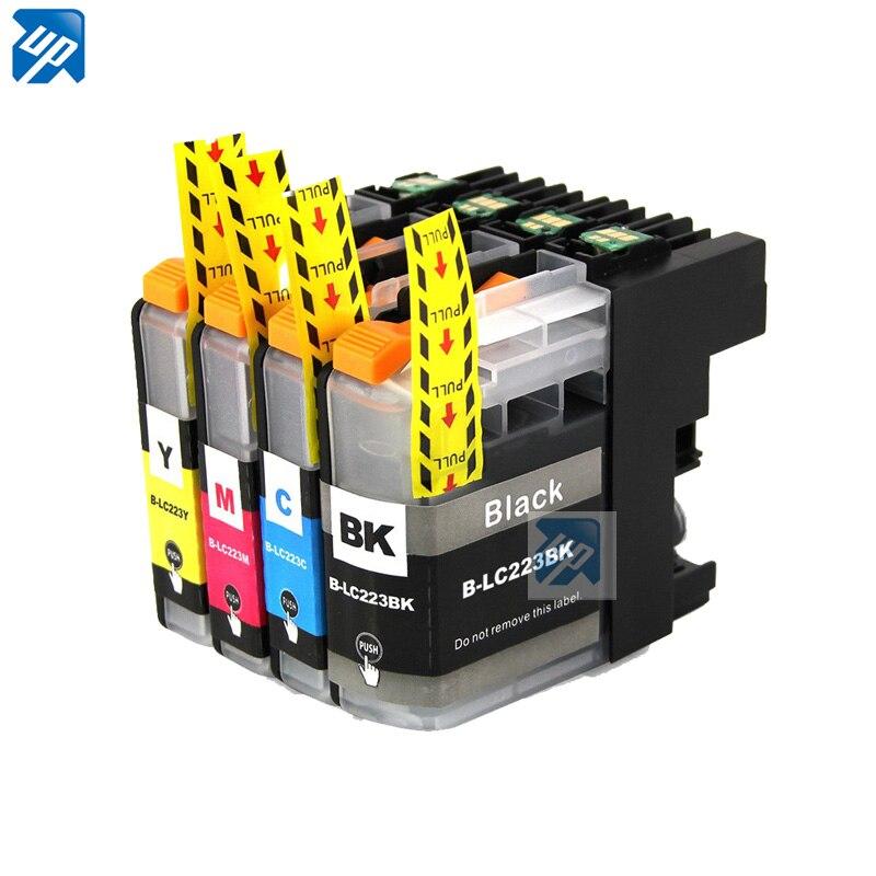 4 чернильный картридж для принтера Brother LC223 DCP-J4120DW MFC-J4420DW MFC-J4620DW