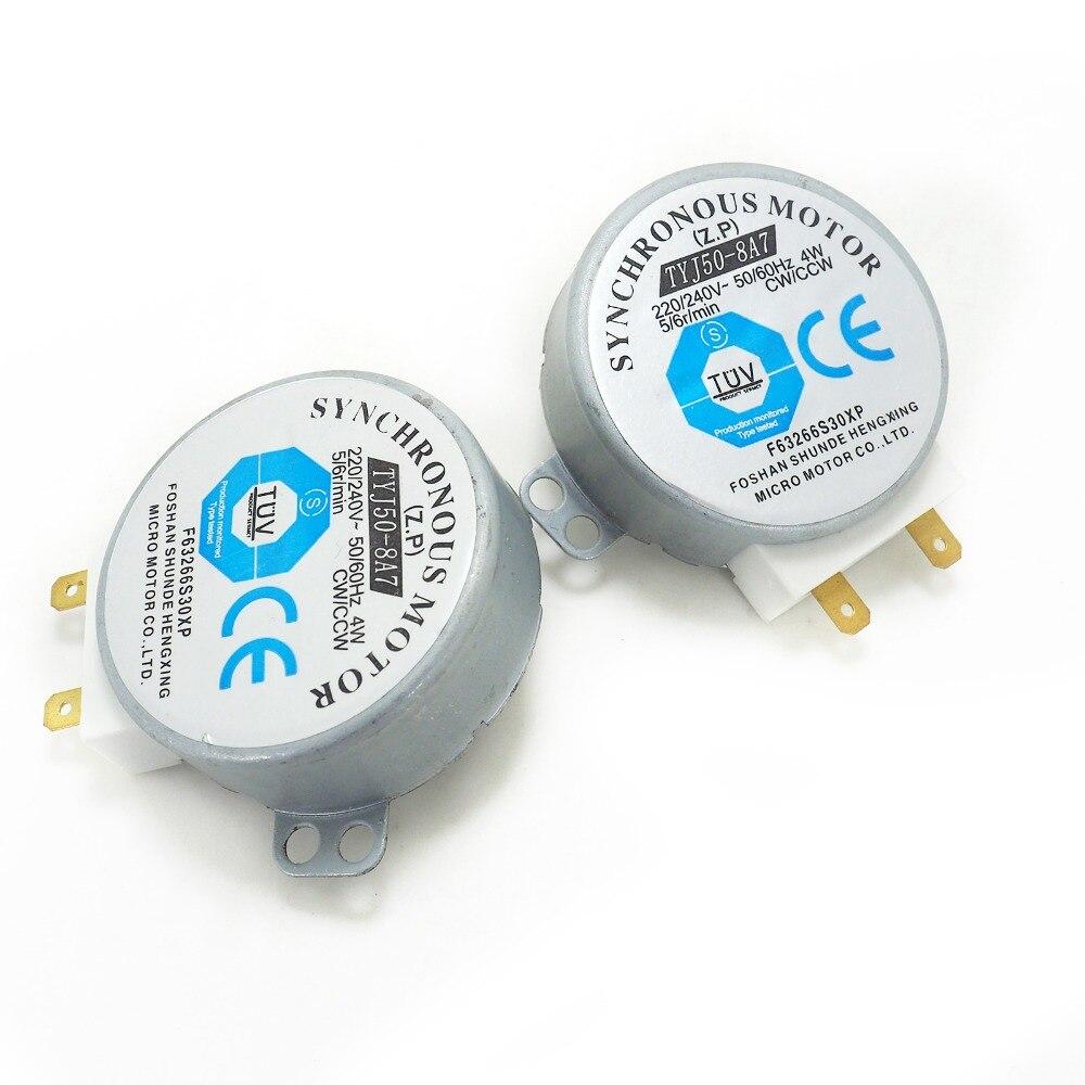 TYJ50-8A7 AC 220V 240V Microwave Turntable Turn Table micro Moto Synchronous Motor foshan shunde hengxing micro motor