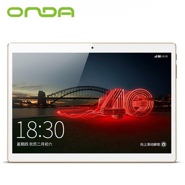 Onda V10 4G Phablet 10.1 inch IPS Screen Android 5.1 MTK6735 1.3GHz Quad Core 1GB RAM 16GB eMMC Dual Cameras GPS FM Tablet PC