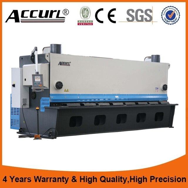 QC11Y hydraulic sheet metal shearer, aluminium scrap metal, aluminum ...