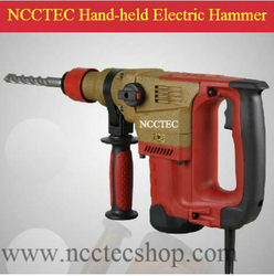 1.2'' 30mm 12J electric rotary hammer breaker | drill holes in concrete brick stone | 1500w/2hp power strong iron case packing