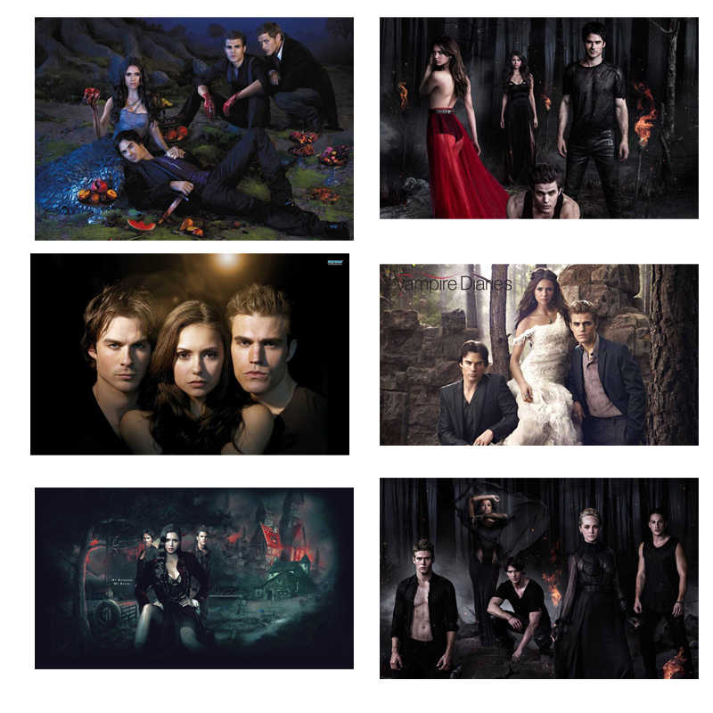 The Vampire Diaries 5D DIY diamond embroidery diamond painting cross Stitch full square Rhinestone mosaic home decor Needlework