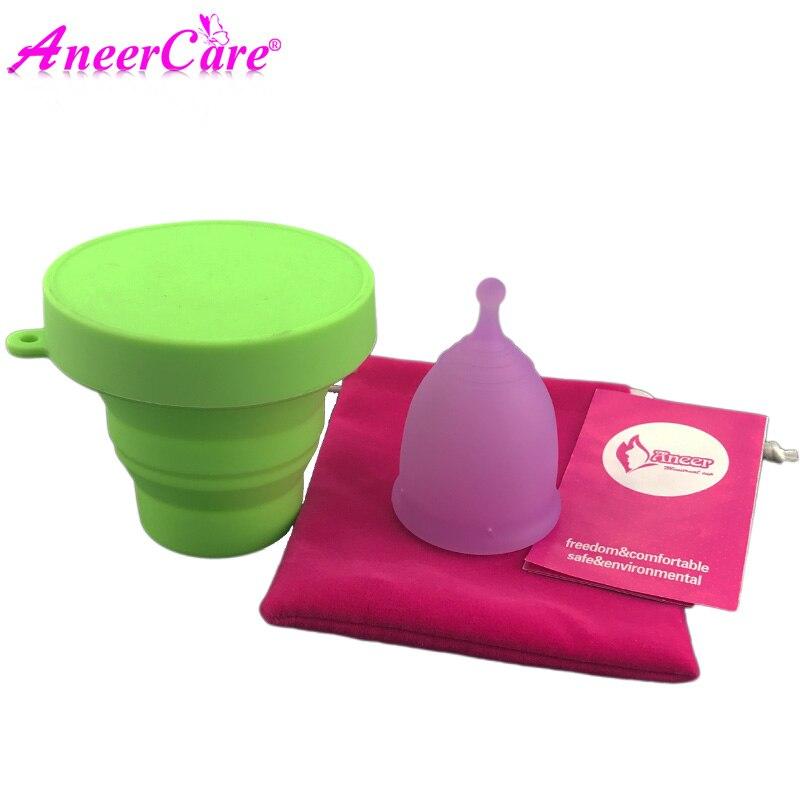 10 sets women menstrual cup period cup coppetta mestruale esterilizador copa menstruation cup copo menstrual cup