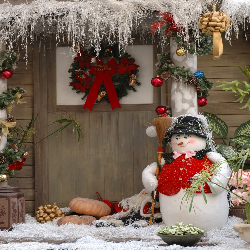 Laeacco Winter Snow Wooden House Door Snowman Christmas Photography Backgrounds For Photo Studio Vinyl Custom Photo Backdrops kidniu scenery photography backdrops trees lake photo props wallpaper winter snow vinyl background for studio 9x5ft win1403