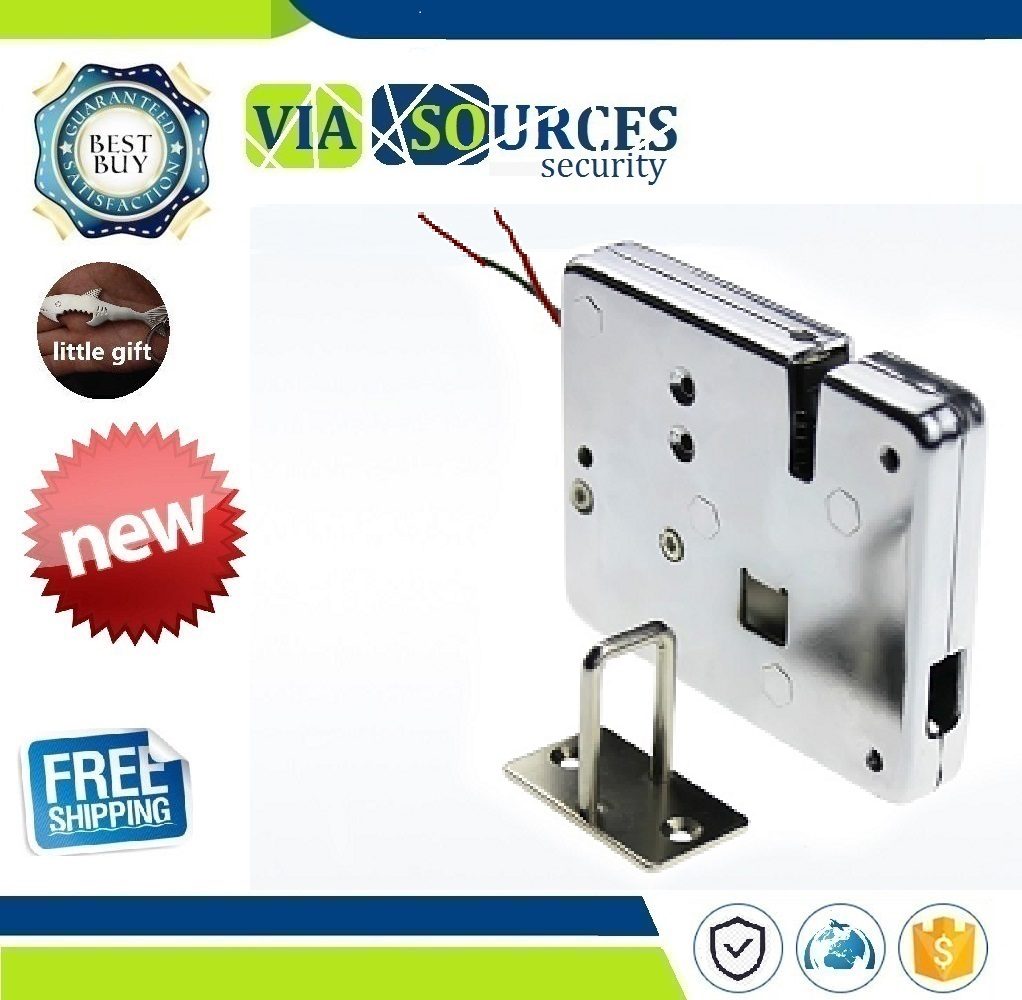 12v Dc Mini Electric Metal Small Bolt Lock Magnetic For Drawer