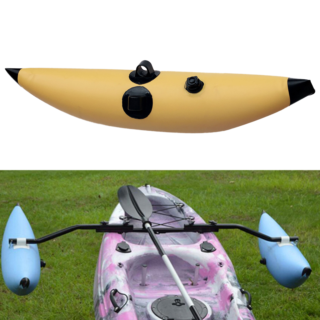 Durable PVC Inflatable Outrigger Stabilizer For Kayak Boat Fishing Standing Water Float Buoy Buoyant Inflatable Stabilizer