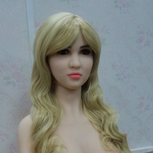 #69 Real sex doll head for big size adult love dolls 135cm/140cm/148cm/153cm/152cm/155cm/158cm/163cm/165cm/168cm/170cm