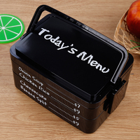 Portable Cute Mini Bento Box Japanese Lunch Healthy Food Container Plastic Lunch Boxs Sealed Containers With