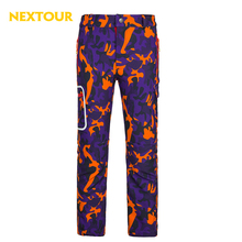 NEXTOUR Outdoor pants kids Winter Camo pants Softshell Pants Boys Girls Thermal windproof Trousers with fleece Waterproof ski