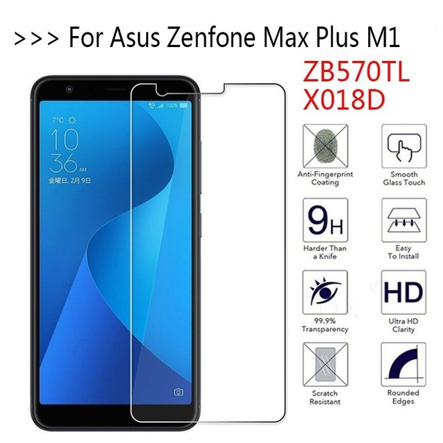 For Zb570tl X018d Tempered Gl Asus Zenfone Max Plus M1 Screen Protector Protective Film On 9h 2 5d