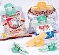 2016 limitada venda quente pacote de saco de forte vedação comida selo clipe de cozinha suprimentos de cimento de