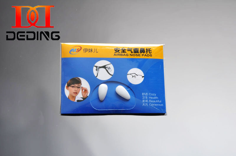 Deding Heart-shape Ceramics Anti-slip Multicolor Airbag Nose Pads For Glasses Frame Oculos De Ceramics Almofadas Nariz Dd1072 High Quality And Low Overhead Eyewear Accessories