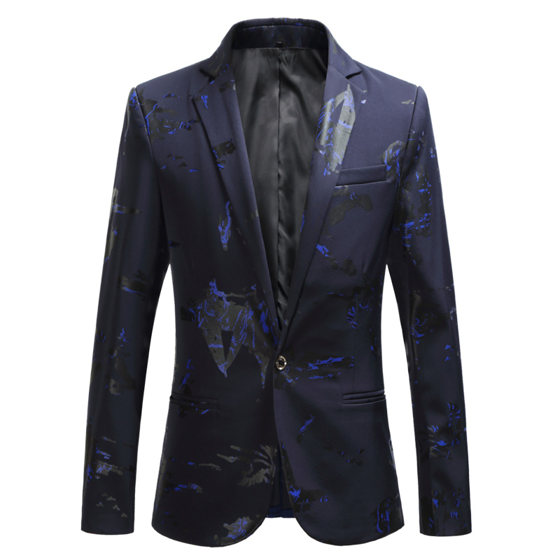 ZIOLOMA Mens Blazer Jacket Slim Fit Casual Two Button Solid Suit Separate Jacket