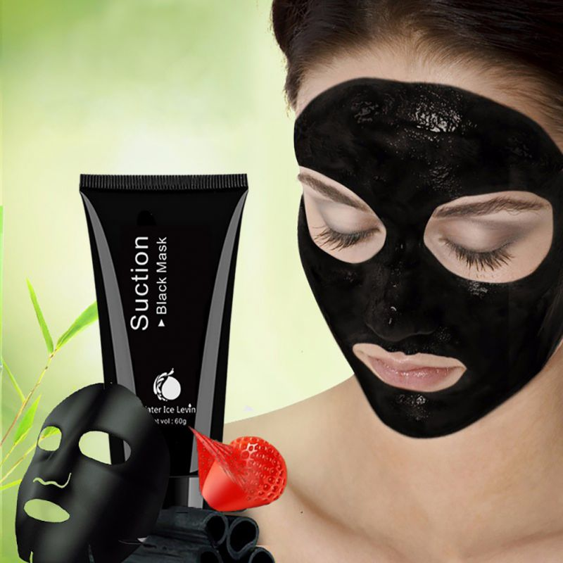 Charcoal Mask To Clear Pores And Detox Skin: Deep Cleansing Women Black Mask Activated Charcoal Face