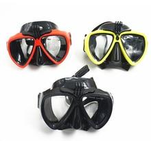 dive mask scuba diving for gopro adult snorkel mask set esnorkel full face scuba mask underwater pc buceo