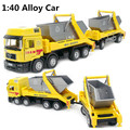 Мусоровоз сплава модель 1:40 детская образования игрушки автомобилей, Детская любимые подарки, Бесплатная доставка