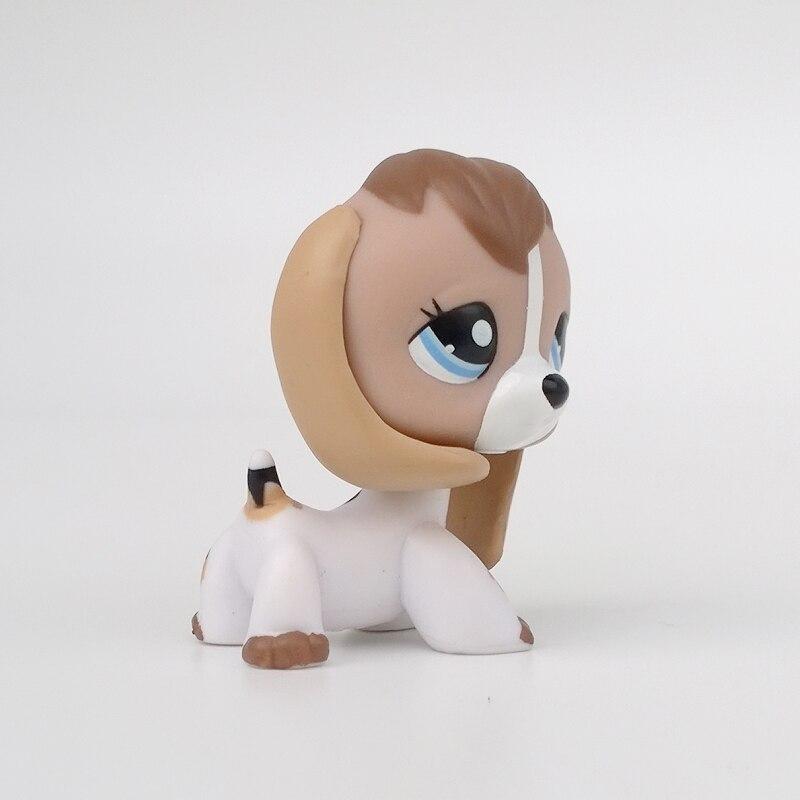 Pet Beagle Hund 2207 Tier Spielzeug Weiß Körper Mit Blauen Augen In